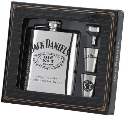 Compra Jack Daniel Set de regalo de petaca, chupitos y embudo ...