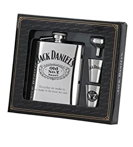 Jack Daniel's 6-Ounce Flask/Shots/Funnel Gift Set