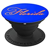 Florida University Orange/Blue - PopSockets Grip and Stand for Phones and Tablets