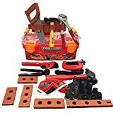 This fun construction tools set is full of variety, 31 pieces of tools and accessories. Play with a huge variety of tools, screws, nuts, bolts, etc. Includes screwdrivers, hammers, pliers, clamp, safety goggles, wood pieces, nuts, and bolts. ...