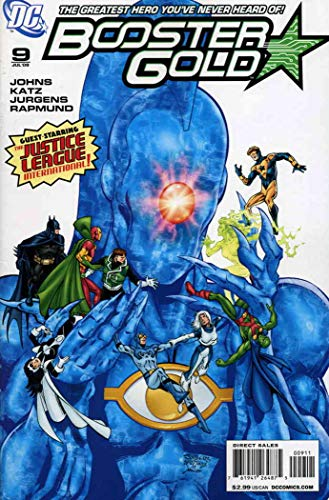 (Booster Gold (2nd Series) #9 VF/NM ; DC comic book)