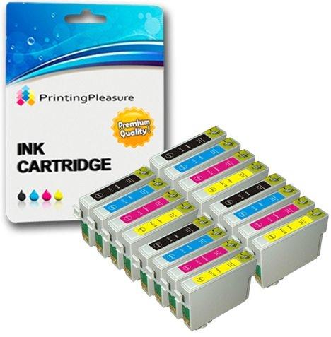 456 opinioni per 16 XL Compatibili Epson T0711-T0714 (T0715) Cartucce d'inchiostro per Stylus D78