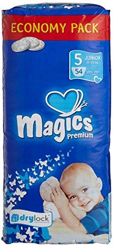babies best Magics Premium 3.0 Windeln, Monatspackung, Größe 5 (Junior), 11-25 kg, (1 x 162 Windeln)