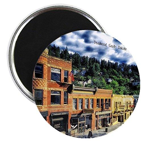 CafePress - Deadwood, South Dakota - 2.25