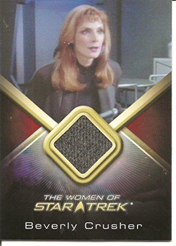 Women of Star Trek Gates McFadden (Beverly Crusher) Costume Card -