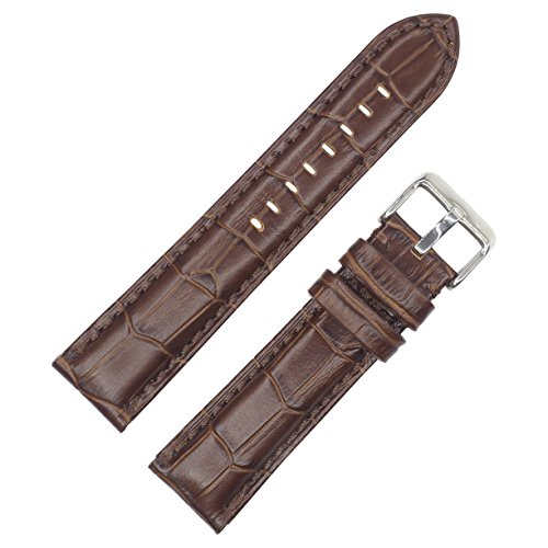 Dark Brown Croc - 2