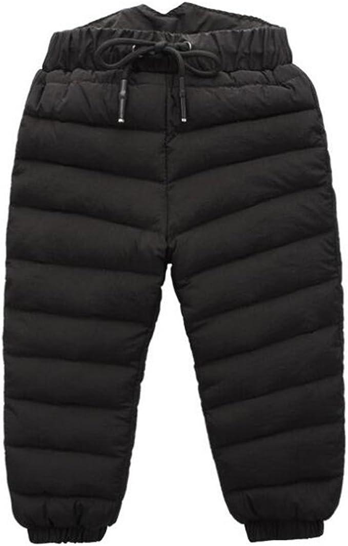Amazon.com: Unisex Baby Boys Girls Winter Snow Pants Kids Skiing Down Pants  Waterproof Trousers Windproof: Clothing