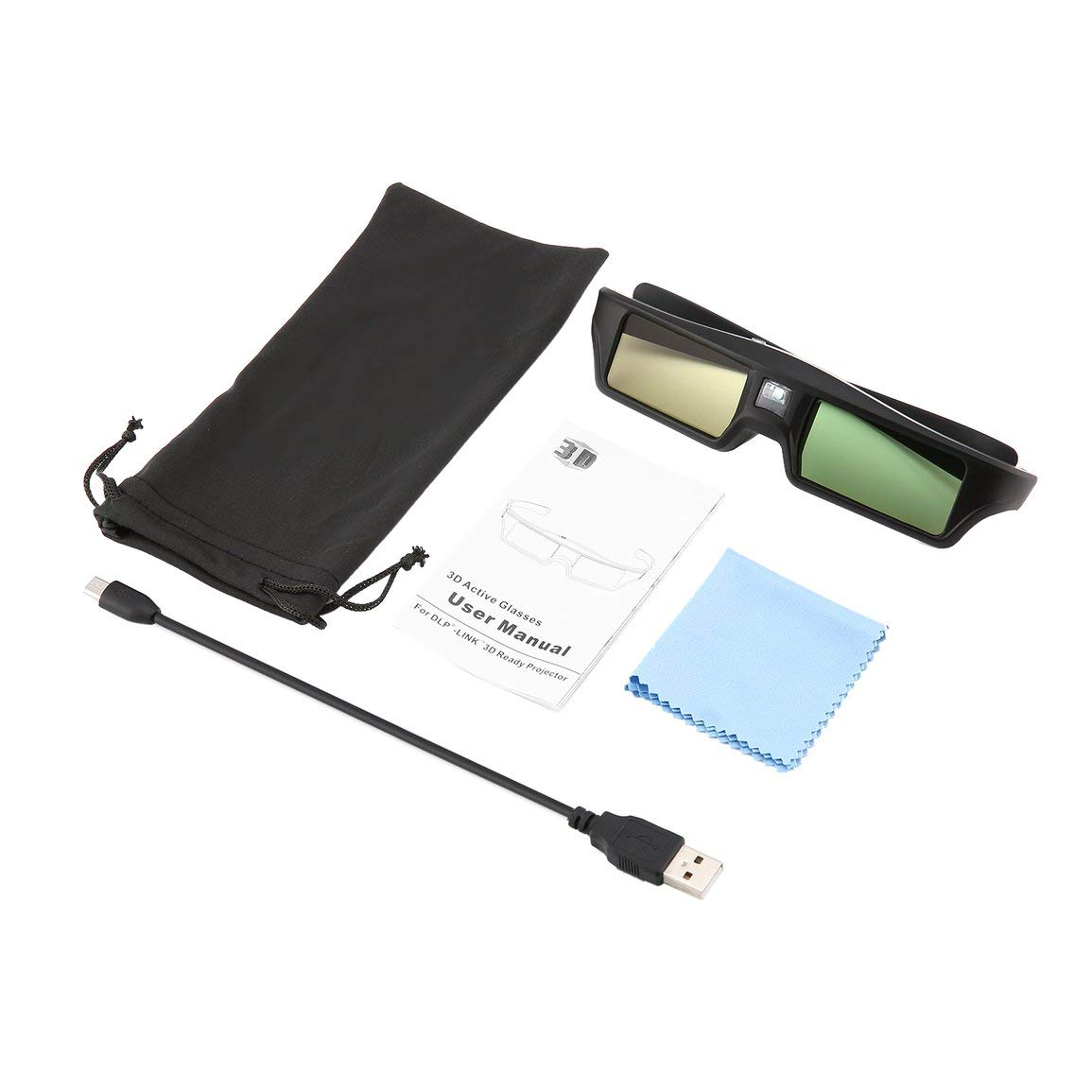 Gafas Active Shutter para proyector BenQ W1070 W700 W710ST DLP ...