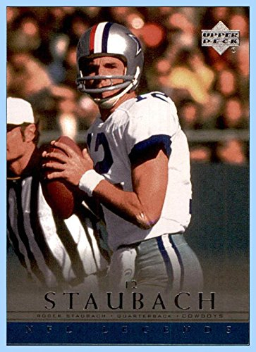 2000 Upper Deck Legends #16 Roger Staubach HOF DALLAS COWBOYS