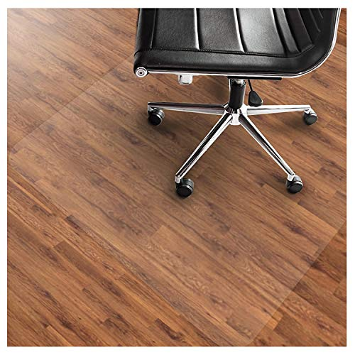 "Office Marshal PVC Chair Mat for Hard Floors - 36"" x 48"" 