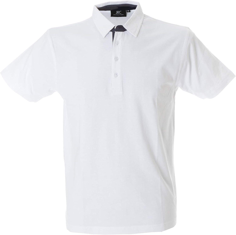Polo da Lavoro Uomo Maglietta Maniche Corte T-Shirt Cotone Jersey JRC Valencia CHEMAGLIETTE