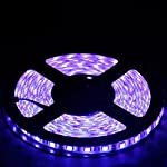 eTopxizu 32.8ft 10M Non-waterproof Flexible Strip 150leds Color Changing RGB SMD5050 LED Light Strip Kit RGB 10M +44Key Remote+12V 5A Power Supply from eTopxizu