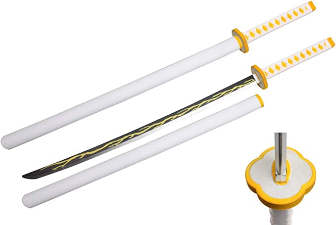 "41/"" Fantasy Foam Samurai Sword Demon Mitsuri Kanroji Slayer Anime Cosplay New"