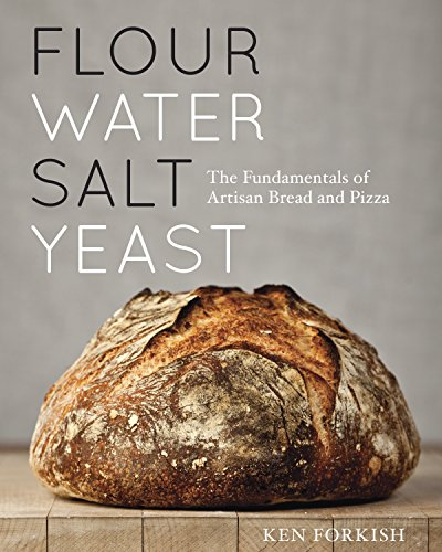 yeast water salt flour - 1