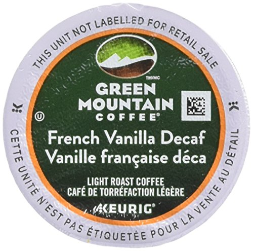 Green Mountain Coffee Stumble Roast K-Cup for Keurig Brewers, French Vanilla Decaf Coffee (Pack of 96)