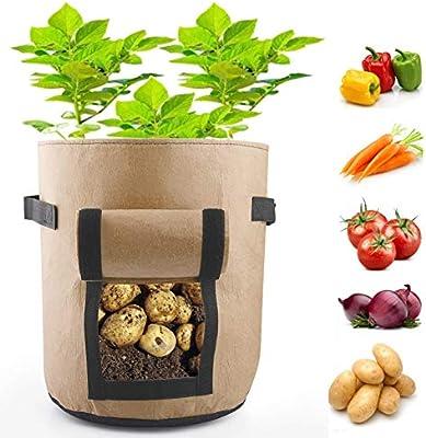 Amazon.com: TiTa-Dong - Bolsas para plantar patatas de 1/5 ...