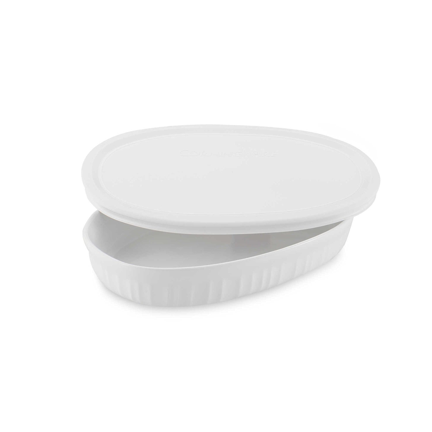 CorningWare French White 15-Ounce Oval Dish