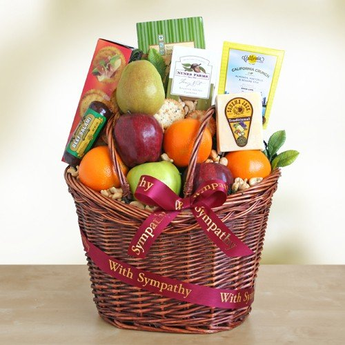 California Delicious Caring Kindness Gourmet Fruit Gift Basket