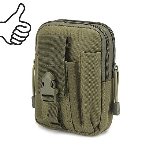 Multi-Purpose EDC Vape Pouch Bag, Vape Case,Tactical Bag Pouch, Military Nylon Utility Tactical Waist Pack Camping Hiking Pouch(Navy) by Best-Pouch