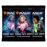 MTG 3 (Three) Packs - Magic: the Gathering Core Set 2019 Booster Packs (3 Pack Draft Lot)