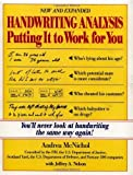 img - for Handwriting Analysis : Putting It to Work for You by Andrea McNichol (1994-09-22) book / textbook / text book