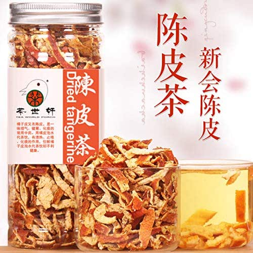 Dried Tangerine Peel Tea 100g Orange Peel Weight Loss, good for the stomach Throat, herbal tea health