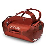 Osprey Packs Transporter 65 Expedition Duffel, Ruffian Red, One Size