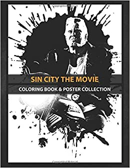 Coloring Book Poster Collection Sin City The Movie Sin City