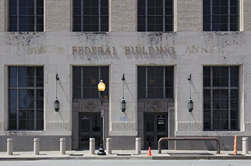 Photograph| The Terminal Annex building, Dallas, Texas 2 Fine Art Photo Reproduction 66in x 44in