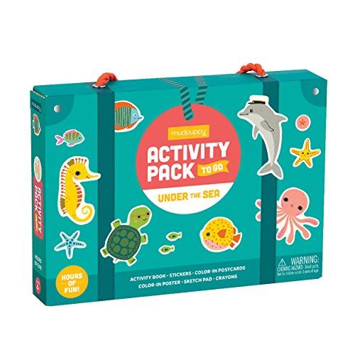 Mudpuppy Under The Sea Childrens Arts & Crafts Kits -