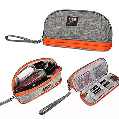 BUBM Men & Women Toiletry Handbag Cosmetic Case Capacity Portable Makeup Storage Bags Pouch Travel Kit Organizer (Gray)