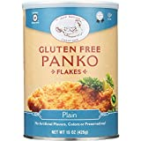 Jeff Nathan Creations Bread Crumbs - Panko Flakes - Plain - Gluten Free - 15 oz - case of 12 - - Gluten Free - From Israel