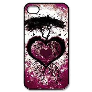 Hard Shell Case Of Love Pink Customized Bumper Plastic case For Iphone 4/4s