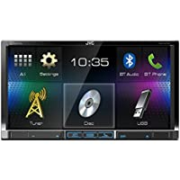 JVC KW-V41BT 7-Inch Double Din Car Stereo Receiver with SiriusXM Radio Ready Compatible with iDataLink Maestro