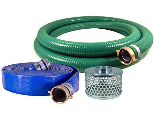 PVC/Aluminum Water/Trash Pump Hose Kit, 2