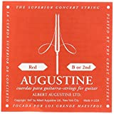 Augustine AURE2 Nylon Classical 2nd Single Guitar B String, Medium - Red