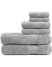 TRIDENT Large Bath Towels, 100% Cotton Feather Soft Towels, Absorbent, Soft & Plush Bath Towels