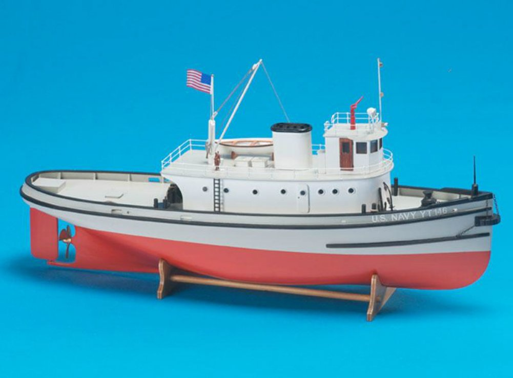 Amazon.com: Hoga WWII Pearl Harbor Tug – Modelo Ship Kit de ...