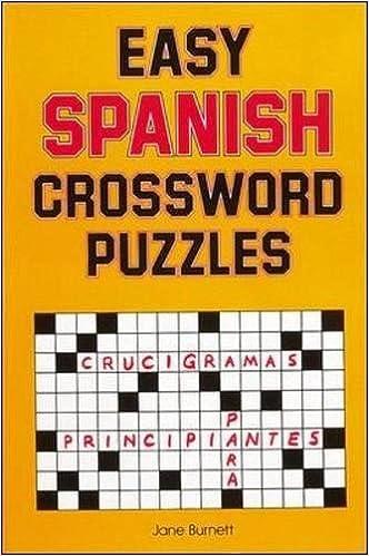 Amazon.com: Easy Spanish Crossword Puzzles (NTC Foreign Language ...