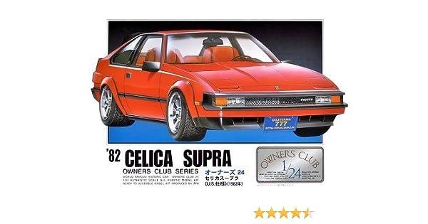 Amazon.com: 1/24 `82 Toyota Celica Supra (Model Car) Micro Ace(Arii) Owners Club 24|No.09: Toys & Games