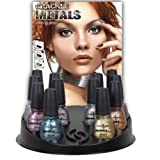 CHINA GLAZE Crackle Metals Set (6pcs) - One of Each Color