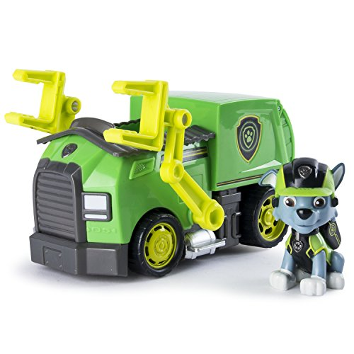 Paw Patrol – Mission Paw – Rocky's Mission Recycling Truck