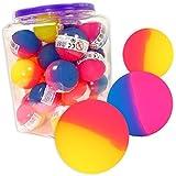Spielzeug & Modellbau (Posten) 50 x Flummis Flummi Springball 45 mm Hüpfball Bouncing Ball Mitgebsel Tombola