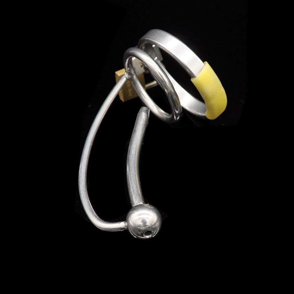 Q-HL Jaulas de pene Cinturones de castidad Chastity Cage, dispositivo de de castidad de dispositivo metal de acero inoxidable con pene de bloqueo de pene del cateterismo (Color : 38mm) 31aa7f