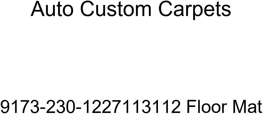 Auto Custom Carpets 9173-230-1227113112 Floor Mat
