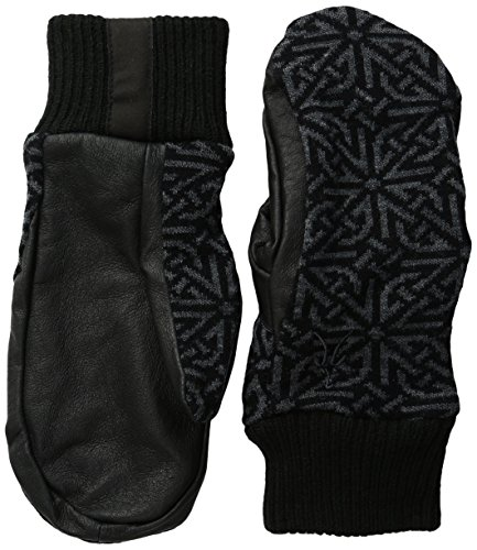 Ibex Outdoor Clothing Women's Juliet Mittens, Medium, Celtic/Black