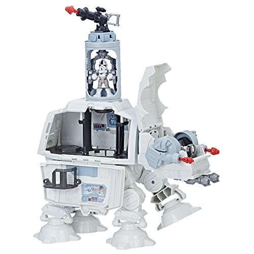 Star Wars Galactic Heroes Imperial AT-AT Fortress (Best Star Wars Toys)