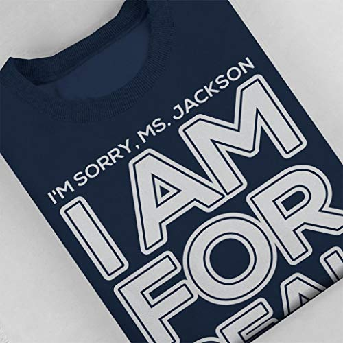 Lyrics Real Coto7 Women's Sweatshirt For Blue Navy Sorry Outkast Jackson Im I Am Miss wfzqZF