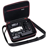 Smatree Carry Case for DJI Spark Drone, Fit for 3 Spark Batteries/Battery Charger/Remote Controller/Accessory