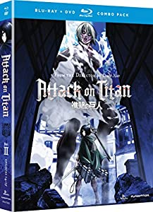 Cover Image for 'Attack on Titan: Season 2 [Blu-ray + DVD]'